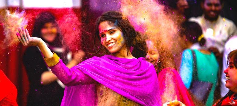 Fêtez la Holi, le festival des couleurs en Inde